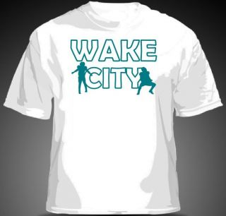 Cameron Wake WAKE CITY Shirt Miami Dolphins Bush Tannehill MENS