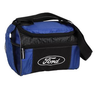 25 BLUE FORD MOTOR COMPANY LUNCH COOLER W BOTTLE HOLDER