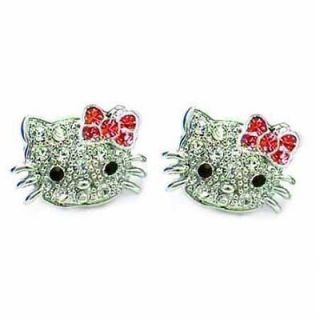 hello kitty stud earrings in Earrings