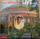 Bollywood Compilation LP Record   Lata Live @ Royal Albert Hall Music