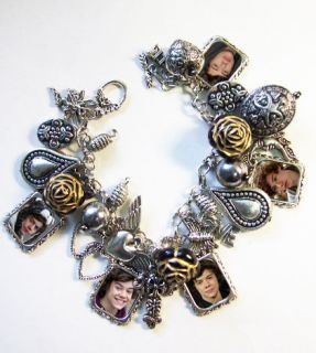 Harry Styles**ONE DIRECTION** X factor Charm Bracelet