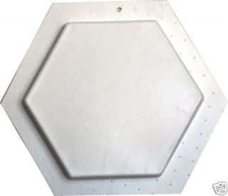 Hexagon Concrete Garden Paver Mould Standard CM 6013