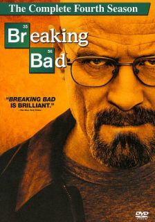 Breaking Bad The Complete Fourth Season (DVD, 2012, 4 Disc Set)