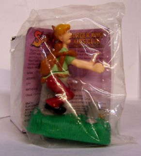 BURGER KING SCOOBY DOO SHAGGY RUNNING Cemetery Toy NIB
