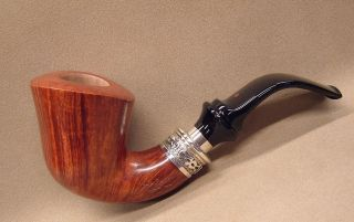 briar smoking pipe/pipa SER JACOPO La Fuma Delecta