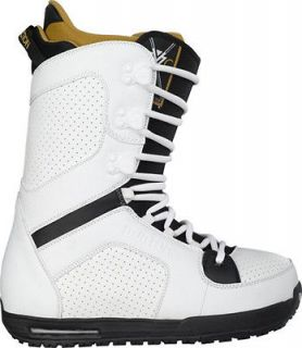 2012 Burton The White Collection TWC White 10.5 Snowboard Boots