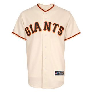 San Francisco Giants Adult Home Majestic Replica Jersey