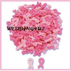 oz BREAST Cancer PINK RIBBON Edible Sprinkles Quins CUPCAKE CAKE