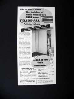 Woodall Glide All Sliding Doors Place Homes Prefab Houses house 1953