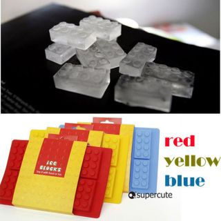Lego Bricks Ice Bricks Tray Ice Tray Mold Maker Party Mould