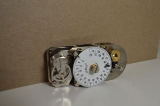 029844 0 00 TIME LOCK BANK VAULT 120HR SAFE TIMER MOVEMENT CLOCK #56