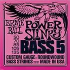 Ernie Ball 2821 Power Slinky 5 String Bass Strings 30   135