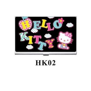 New Cute Hello Kitty Aluminum Credit Name Id Gift Card Case