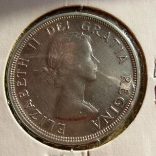 Canada Silver Dollar high grade 1953 UNC MS ???
