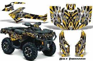 CAN AM OUTLANDER 500 650 800R 1000 GRAPHICS KIT DECALS STICKERS TXYBB