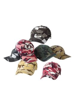 Flexfit Camouflage Structured Fitted Cap Camo Hat Brand New 6977CA