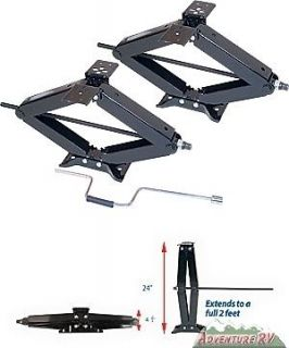 RV Camper Scissor Stabilizer Jacks Lifetime Warranty