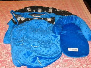 Car Seat Canopy Boy The Whole Caboodle 5 piece Car Seat Set. Washed