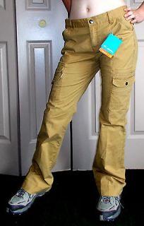 Plus Sz XL & M Columbia Omni Shade Multi pocket cargo pants Tan