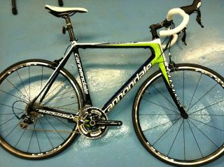 NEW 2012 CANNONDALE SUPERSIX 5 ROAD BIKE CARBON BICYCLE SIZE 56 PIC UP