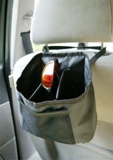Synergy Compact In Car Front Seat Organiser Storage System Bag