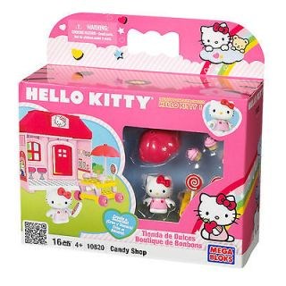 Mega Bloks Hello Kitty Candy Store Play Set   1