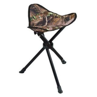 Realtree APG Camo Tripod Stool Shooting Seat with Case