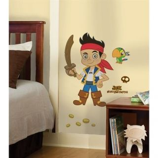 Jake & the Neverland Pirates Peel & Stick Giant Removable Wall Decal