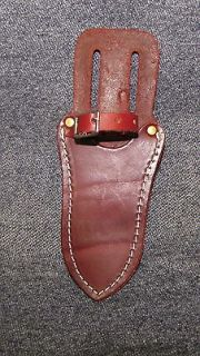 All Leather Single Tool Pouch for Belt/with strap