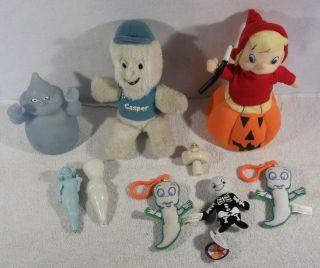 Large lot of Casper the friendly ghost wendy the good witch toys