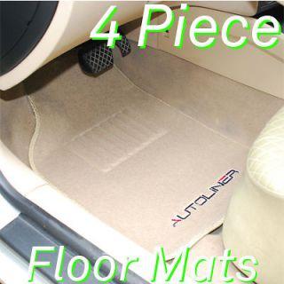 Auoliner 4Pc Heavy Carpe Floor Mas Wih Cadillac an (Fis