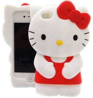 hello kitty iphone 4 silicone case in Cases, Covers & Skins