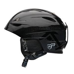 GIRO G10 SKI / SNOWBOARD HELMET Black Poncho   W12