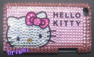 New Hello kitty Bling Case Cover For iPod Touch 4 4G #2