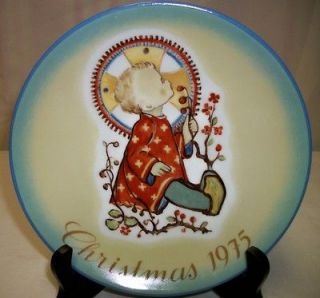 1975 CHRISTMAS PLATE CERAMIC COLLECTOR PLATE SCHMID