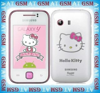 S5360 Galaxy Y 2MP Android v2.3 UNLOCKED Phone Hello Kitty Version