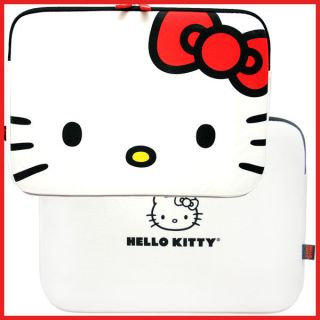 Hello Kitty Macbook Case Form 13 LapTop Bag  Face w/ Red Bow