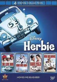 Newly listed DISNEYS HERBIE THE LOVE BUG 4 Movie Collection 2012