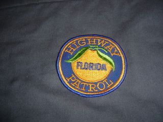 FLORIDA HIGHWAY PATROL PATCH RELIST LOWER COST