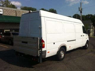 Sprinter 2500. Super long and high. 158 WB. Tommy lift gate. NICE
