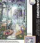Gate 14 Count White Aida Cloth Counted Cross Stitch Kit, 10 x 14 NIP