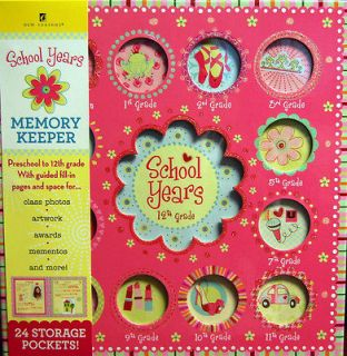 School Years Sweet Memories Album Girl Book w Manufac Defect new