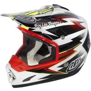 Lee Designs TLD SE3 Cyclops Helmet Black Small w/Helmet Bag & Visors