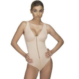 Vedette 118 Post Surgery Compression Garment Zipper Body Suit Powernet