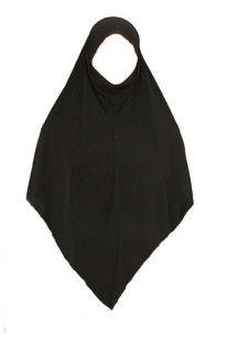 pc Triangle Long Khimar Burqa Hijab Abaya Niqab Jilbab Veil Eid