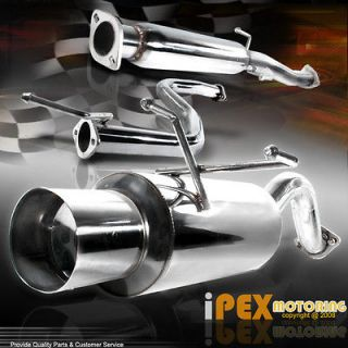VTEC POWER) 92 95 Honda Civic Hatchback JDM N1 Catback Exhaust