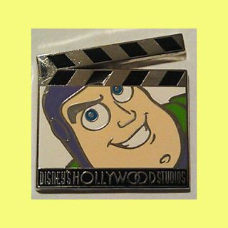 Buzz Lightyear Disneys Hollywood Studios Clapboard Trading Pin