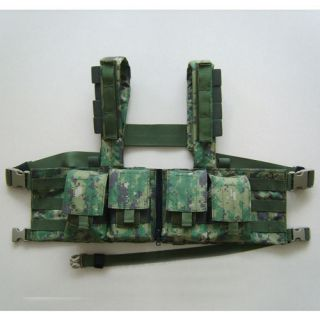 DevGru NSW Navy Seal Molle AOR2 1961K 7.62mm Chest Rig Vest