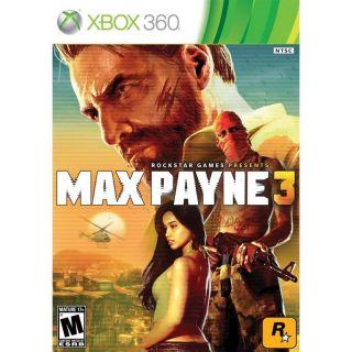 Newly listed Max Payne 3 (Xbox 360, 2012)