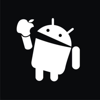 HTC Droid Android eats Apple T Shirt S 3XL Funny 014G